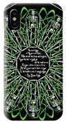 Celtic Flower Of Death IPhone X Case