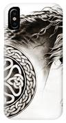 Celtic Friesian IPhone Case