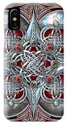 Celtic Hearts - Red IPhone X Case