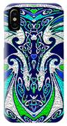 Celtic Love Dragons IPhone Case