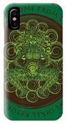 Celtic Pagan Fertility Goddess IPhone Case