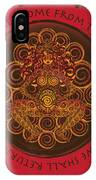 Celtic Pagan Fertility Goddess In Red IPhone X Case