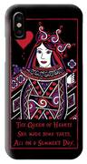 Celtic Queen Of Hearts Part I IPhone Case