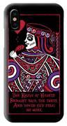 Celtic Queen Of Hearts Part Iv The Broken Knave IPhone X Case