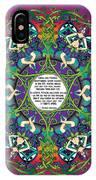 Celtic Spring Fairy Mandala IPhone X Case
