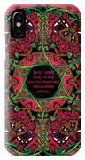 Celtic Summer Fairy Mandala IPhone X Case