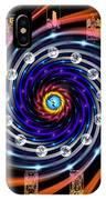 Celtic Tarot Moon Cycle Zodiac IPhone Case