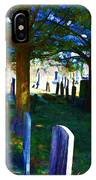 Cemetery Color 2 IPhone Case