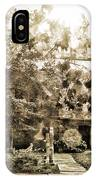 Cemetery Sunflares IPhone Case
