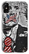 Censorship Expressed Mural IPhone Case