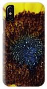 Center Of A Sunflower IPhone Case