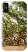 Central Court - Banyan Tree Park In Maui. IPhone Case