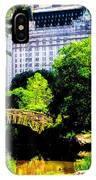 Central Park At 59th Street IPhone Case