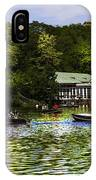 Central Park Boathouse IPhone Case