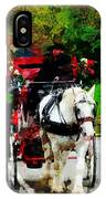 Central Park Carriage IPhone Case