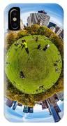 Central Park Circagraph  IPhone Case