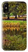 Central Park In Autumn - Nyc IPhone Case