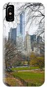 Central Park South Buildings From Central Park IPhone Case