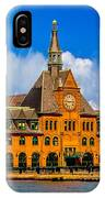 Central Railroad Of New Jersey Terminal IPhone Case