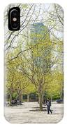Central Shanghai Park In China IPhone Case