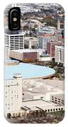 Century II Convention Hall And Downtown Wichita IPhone Case