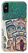 Ceremonial Lodge In Canadian Museum Of Civilization In Gatineau- IPhone Case