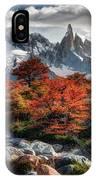 Cerro Torre 3 IPhone Case