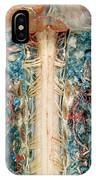 Cervical Spinal Cord, Posterior View IPhone Case