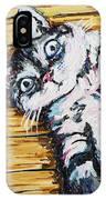 Chachi Cat Portrait IPhone Case