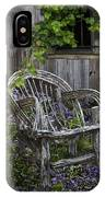 Chair In The Garden IPhone Case