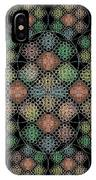 Chalice Cell Rings On Black Lt33 IPhone X Case