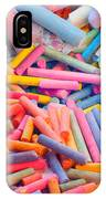 Chalk Colors IPhone Case