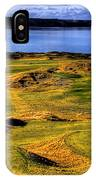 Chambers Bay Lone Tree IPhone Case