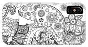 Chameleon In Fantasy Forest. Animals IPhone X Case