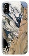 Chamonix Aiguilles, French Alps IPhone Case