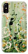 Champagne Symphony IPhone Case