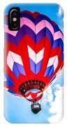 Champion Hot Air Balloon IPhone Case