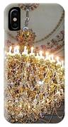 Chandelier At Palace IPhone Case