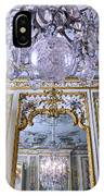 Chandelier Inside Chateau De Chantilly IPhone Case