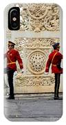 Change Of Guards Ceremony Dolmabahce Istanbul Turkey IPhone Case