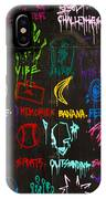 Chaos In Colors IPhone Case