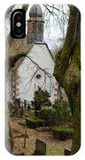 Chapel And Cemetary IPhone Case