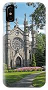 Chapel At Mt Auburn Cemetery IPhone Case