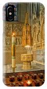 Chapel At Saint Patricks Cathedral IPhone Case