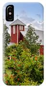 Chapel At The Antique Rose Emporium IPhone Case