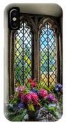 Chapel Flowers IPhone Case