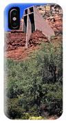 Chapel In Red Rocks IPhone Case