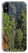 Chapel In The Valley IPhone Case