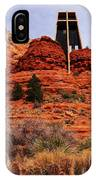 Chapel Of The Holy Cross 3 IPhone Case