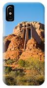 Chapel Of The Holy Cross Sedona Arizona 100 IPhone Case